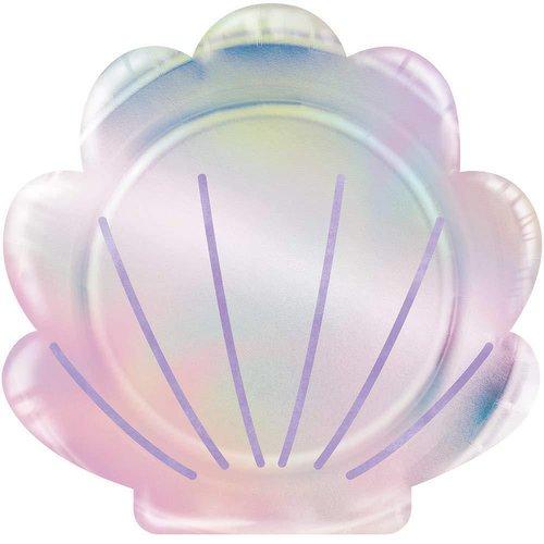 Mermaid Shell Shaped Plates