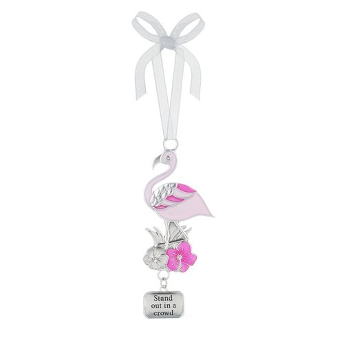Stand out in the Crowd Flamingo Ornament