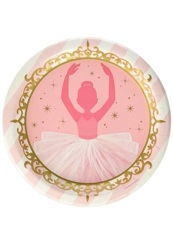 ****Twinkle Toes 9in Plate