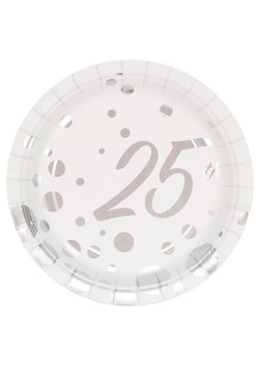 ***Sparkle and Shine 7in Plate 25th Anniversary