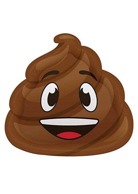 ****Poop Emoji Shaped Plates