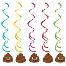 ***Poop Emoji Dizzy Danglers