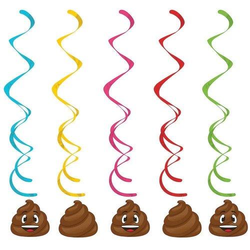 Poop Dizzy Danglers