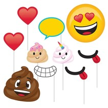 ***Poop Emoji Photo Props