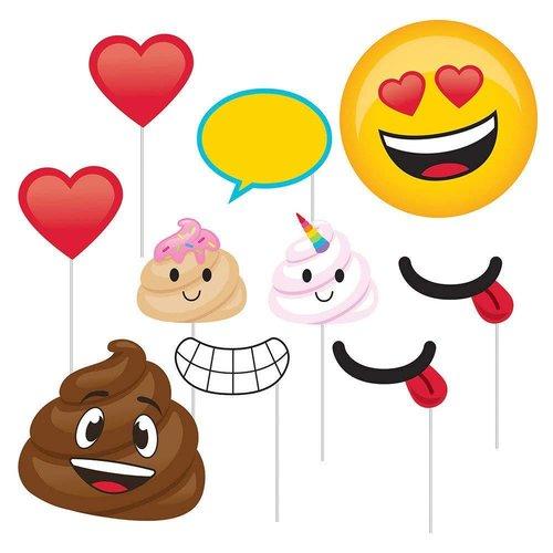 Poop Emoji Photo Props