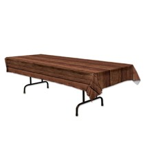 Wooden Plastic Tablecover