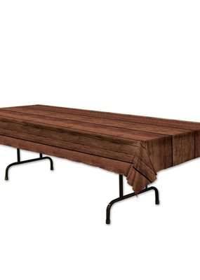 ***Wooden Plastic Tablecover