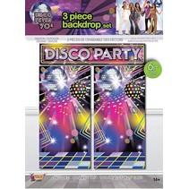 Disco Party Backdrop