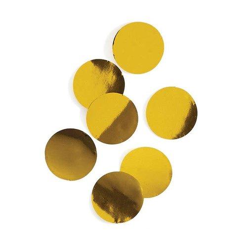 Gold Metallic Dot Confetti