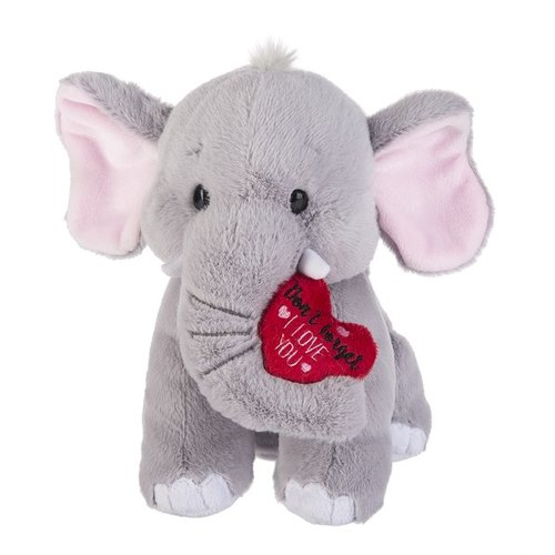 Love You Elephant Plush
