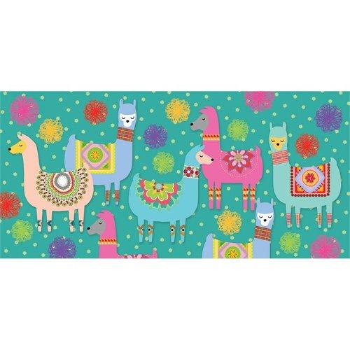 Llama Party Sassafras Switch Mat