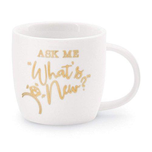 Ask Me What's New Coffee Mug