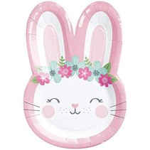 Bunny Shaped Cake Plates