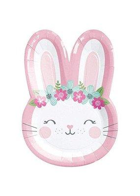 Bunny Shaped Cake Plates