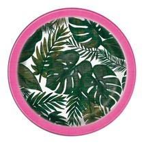 ***Palm Tropical Luau 7in Plate