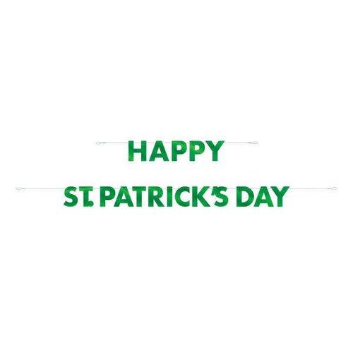Happy St. Patrick's Day Foil Banner