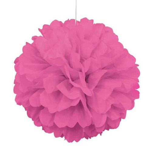 Pink Tissue Puff Ball