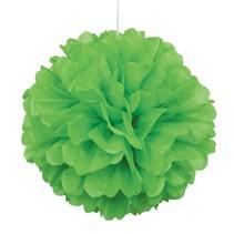 Lime Green Tissue Puff Ball