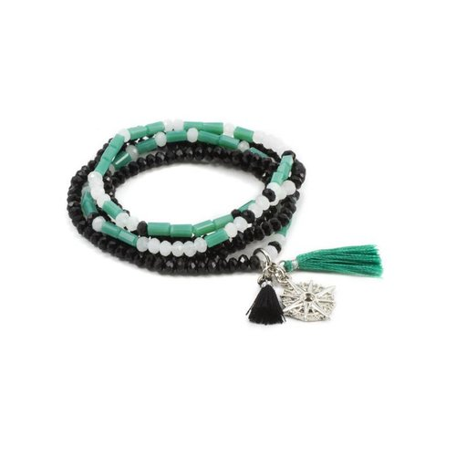"Laura Jenelle MORSE CODE STRETCH BRACELET – ""I AM EXACTLY WHERE I AM SUPPOSED TO BE"""