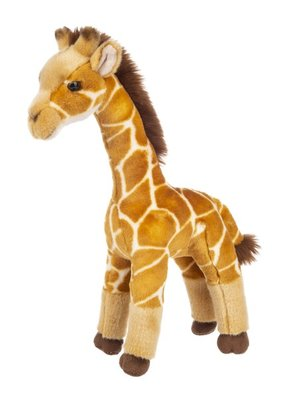 ***Heritage Collection Standing Giraffe Plush
