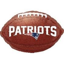 ***New England Patriots Football Mylar Balloon