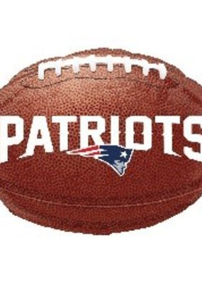 ***New England Patriots Football Mylar Balloon