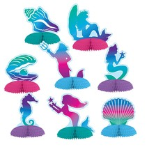 *Mermaid Mini Centerpieces