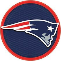 New England Patriots 9in Plate
