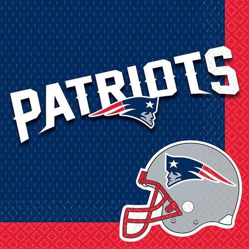 New England Patriots Lunch Napkins