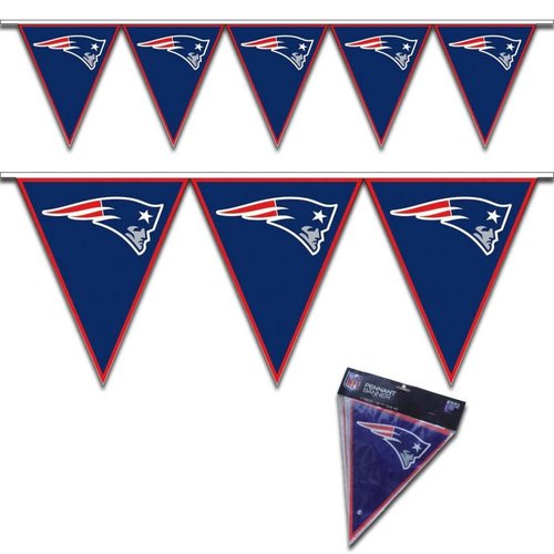 New England Patriots Pennant Banner