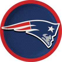 New England Patriots 7in Plates