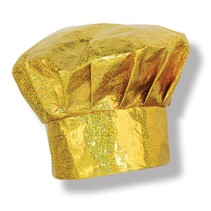 "Gold Sparkle Chef Hat ""Nailed It"""