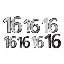*'16' Foil Cutouts