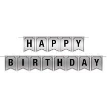 ***Happy Birthday Foil Streamer