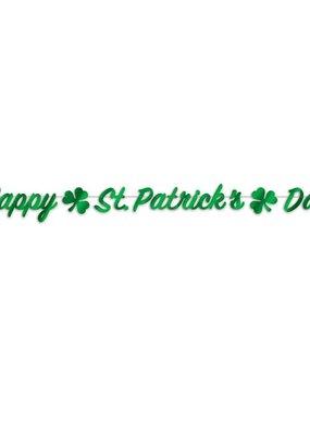 ***Happy St. Patrick's Day Streamer Banner