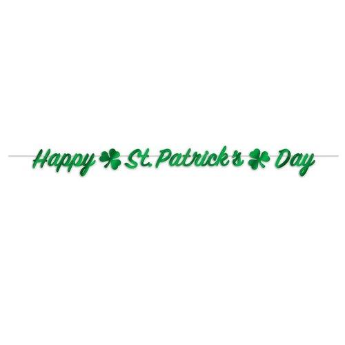 Happy St. Patrick's Day Streamer Banner