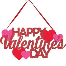 Happy Valentine's Day Door Hanger