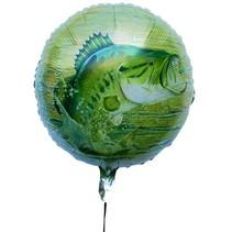 ***Gone Fishin' 18in Mylar Balloon