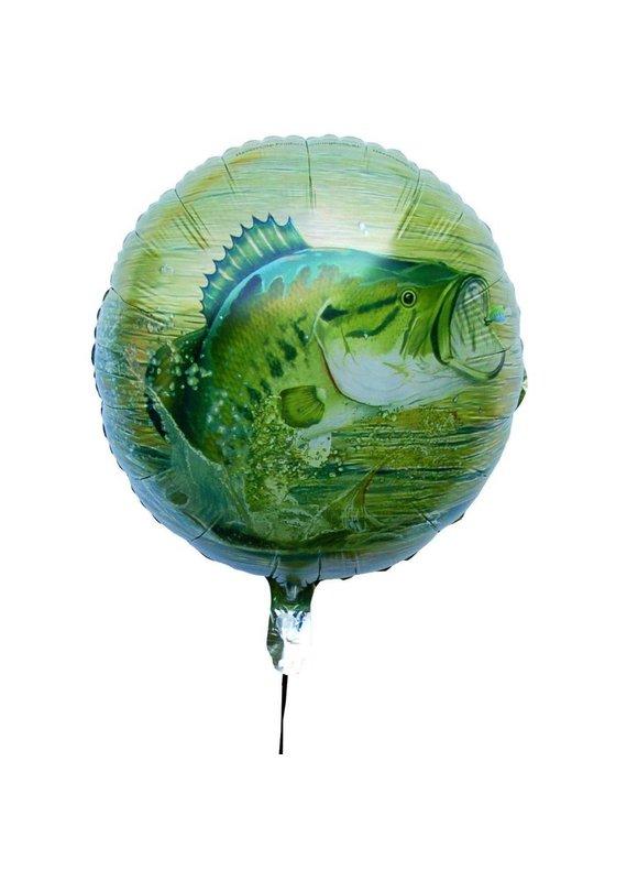 """****Gone Fishin' 18"""" Mylar Balloon"""