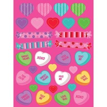 Hearts & Candies Stickers