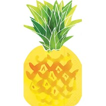 ***Fruit Salad Pineapple Shaped Guest Towel