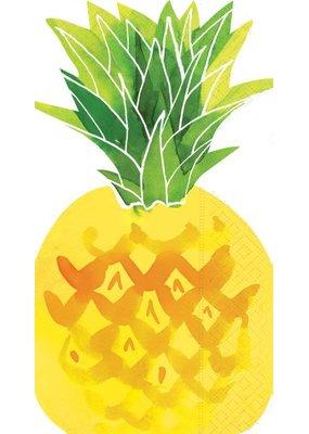 Design Design ***Fruit Salad Pineapple Shaped Guest Towel
