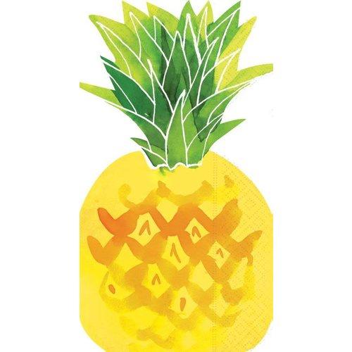 Design Design Fruit Salad Pineapple Shaped Guest Towel