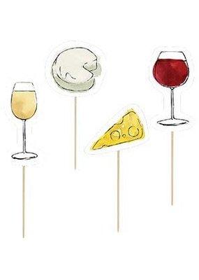 Design Design ***Wine & Cheese Party Picks
