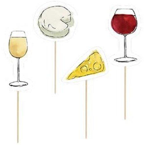 Design Design Wine & Cheese Party Picks