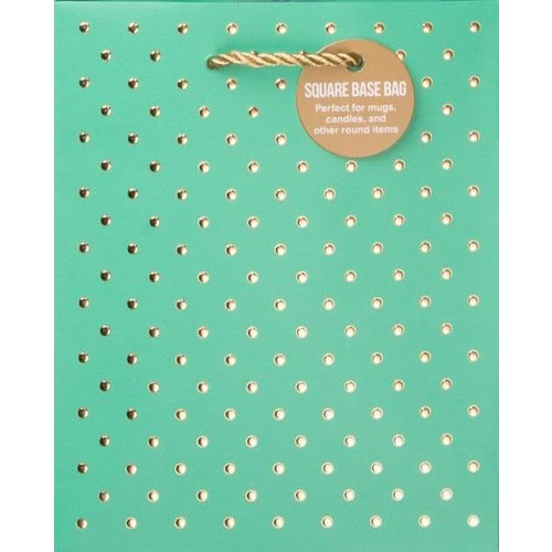 Design Design Gold Swiss Dots Turquoise Small Bag