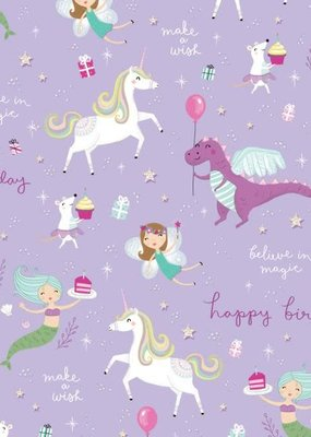 Design Design ***Fantastical Birthday Tissue Paper