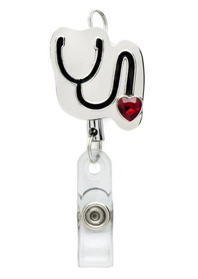Laura Jenelle ***Retractable Stethoscope Badge Reel