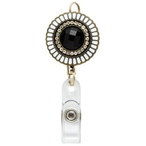 ***Retractable Medallion Badge Reel