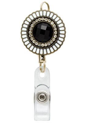 Laura Jenelle ***Retractable Medallion Badge Reel
